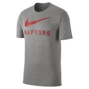 Tee-shirt de NBA Toronto Raptors Nike Dry pour Homme - Gris