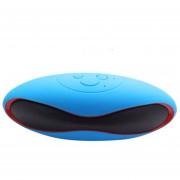 Bocina Bluetooth Portátil X6 Para Samsung Iphone-Azul