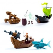Spin master pirati dei caraibi 6035325 - set di gioco con nave e personaggio, modelli assortiti assortiti (no scelta)