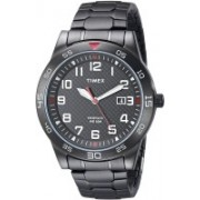 Timex Black15585 Timex Men's TW2P61600 Fieldstone Way Black Stainless Steel Expansion Band Watch Watch - For Men