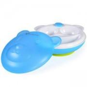 Бебешка купа за хранене с капак Mommy Panda, синя, Cangaroo, 356253