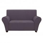 vidaXL Elastyczny pokrowiec na kanapę, z dżerseju, antracytowy