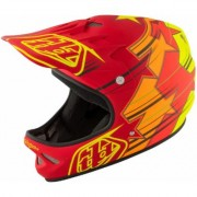 Troy Lee Designs D2 Fusion Casque de vélo Rouge XL 2XL