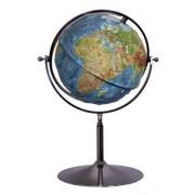 Geo-Institut Relief-Globus Großglobus physikalisches Kartenbild 64cm Durchmesser Standglob...