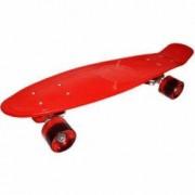 Placa Skateboard roti silicon 56 cm Rosu Robentoys