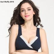 Auri Muffy 2016 Maternity Underwear cross Nursing Bra lace Breast Feeding Bra Pregnant women underwear maternity bra