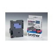 Brother TX-431 - Brother P-Touch Tape svart på röd 12mm