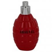 Arsenal Red Eau De Parfum Spray (New Tester) By Gilles Cantuel 3.4 oz Eau De Parfum Spray