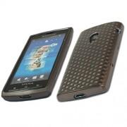 Sony Ericsson XPERIA X10 Силиконов Калъф Черен + Протектор