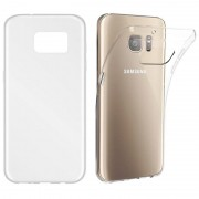 BasicsMobile Samsung S7 Clear Ultra Thin & Soft Cover Samsung S7 Skal