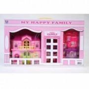 Casuta pentru papusi My Happy Family Mega Creative
