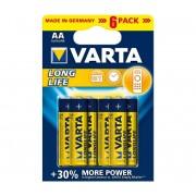 Varta 4106 - 6 buc Baterii alcaline LONGLIFE EXTRA AA 1,5V