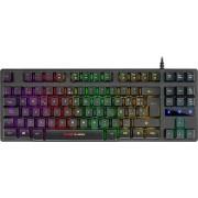 Mars Gaming MKTKL H-Mecanico Teclado (Rojo Switch), A