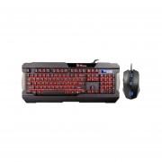 Combo Teclado Gamer y Mouse Thermaltake Tt eSPORTS COMMANDER, USB.