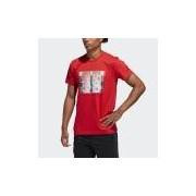 Camiseta com Arte Harden Verb Homem P adidas