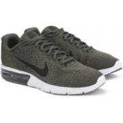 Nike AIR MAX SEQUENT Running Shoes For Men(Green)