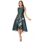 Roman Originals Floral Print Dipped Hem Midi Dress