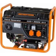 Generator open frame benzina Stager GG 3400E 3kW 7CP