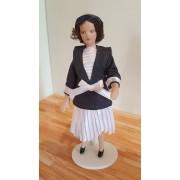 Papusa portelan LADY MARINE - miniatura
