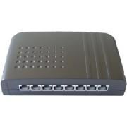 506129 - Smartbox LSA Cat.6A 8-Port, schwarz 506129