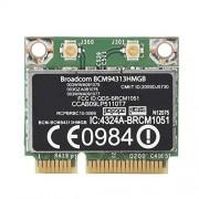 FAMKIT Compatible con Broadcom Bcm94313hmgb 300M Bluetooth3. 0 Pcie Tarjeta de Red para Hp G4 / Cq43 Series