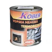 Vopsea termorezistenta Köber negru 0,2 l