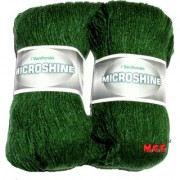 Vardhman Microshine Leaf Green 400 gm hand knitting Soft Acrylic yarn wool thread for Art & craft Crochet and needle