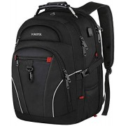 Backpacks for Men,TSA Travel Backpack with USB Charging Port,Extra Large Business Backpack with Luggage Sleeve, Water Resistant College School Bookbag