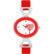 The Shopoholic Designer Red Love Tree Dial Awesome Analog Watches For Women-Watches For Girls