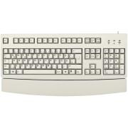 G83-6260LUNDE-0 - Tastatur, USB, grau, mit Handballenauflage