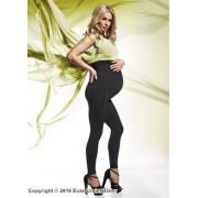 Leggings för gravida med sydda ränder