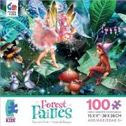 Forest Fairies Fairy Elf and Mice Jigsaw Puzzle