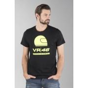 VR46 Logo T-Shirt Svart