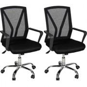 Fabsy Interior - Mesh Chair 5021 By Fabsy Interiors (Set Of 2Pcs.)