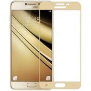 Samsung Galaxy C9 Pro Full Screen Rose Gold Color Tempered Glass Screen Guard Geocell Premium Full Screen Color Temper