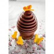 Moule uf en chocolat 3D silicone Silikomart