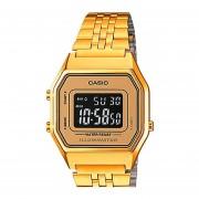 Reloj Casio La-680wga Vintage Gold Retro -Dorado