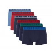 Hugo Boss 6-pack boxershort trunk multi color