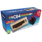 Retro Games Ltd The C64 Mini Console Videogames Deep Silver (EU IMPORT) + 1 Joystick + 64 juegos preinstalados