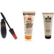 ADSwaterproof mascara / scrub (50gm) / white invisible foundation