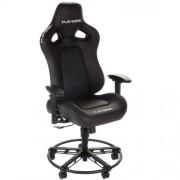 Scaun gaming Playseat L33T BLACK Negru, Piele, Metal
