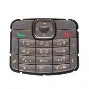 iPartsBuy Mobile Phone Keypads Housing Replacement with Menu Buttons / Press Keys for Nokia N70(Silver)