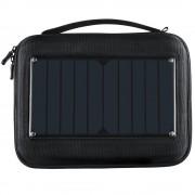 Geanta cu incarcator solar incorporat pentru camere video sport (Negru)