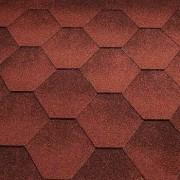 Bitumenové šindele Katepal Jazzy, červená