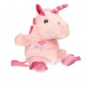 Knuffelparadijs Pluche roze eenhoorn rugtas 33 x 18 cm