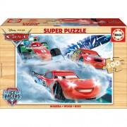 Puzzle din lemn Educa Cars 100 piese