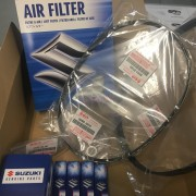 Genuine Suzuki Swift Major Service Kit AZH414 Type 1 Spark...