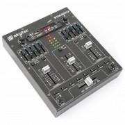 Skytec STM-2270 Table de mixage 4 canaux Bluetooth USB SD MP3 FX