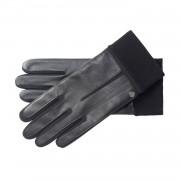 Roeckl Touch Leder-Handschuhe mit Strickbund Schwarz 8.5