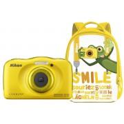 Nikon COOLPIX W100 с рюкзаком (жёлтый)